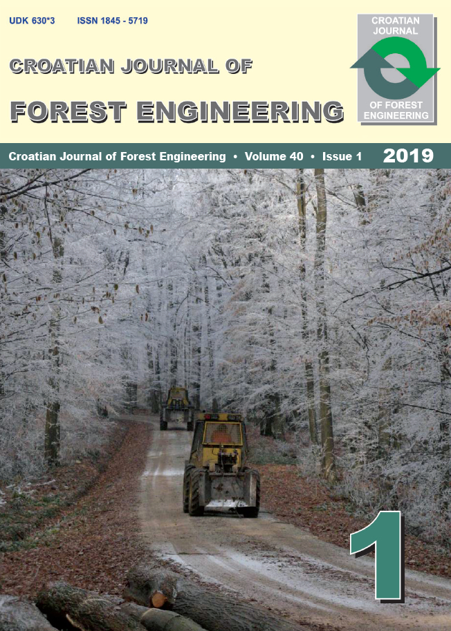 Crojfe Journal of Forest Engineering